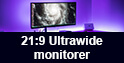 21:9 Ultrawide monitorer