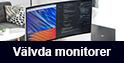 Välvda monitorer