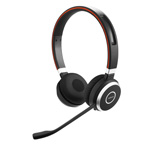 Jabra Evolve 65 UC Duo - Bluetooth, USB - Stereo-Headset