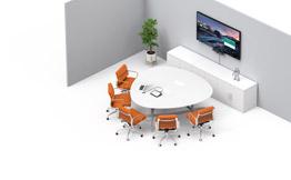 Videokonferenssystem efter rum