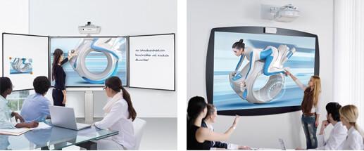 Montering av interaktiva Whiteboards