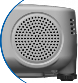 Beamer med integrerad högtalare