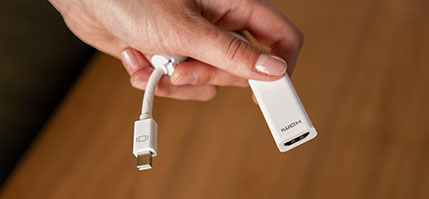 Mini Displayport till HDMI Adapter