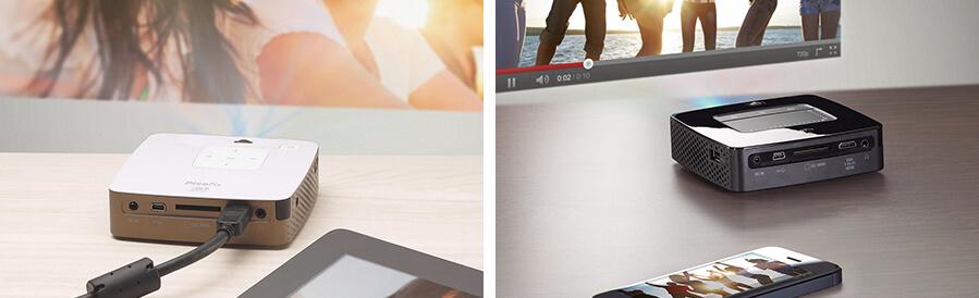 Storleksförhållande projektorer