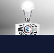LED projektorer