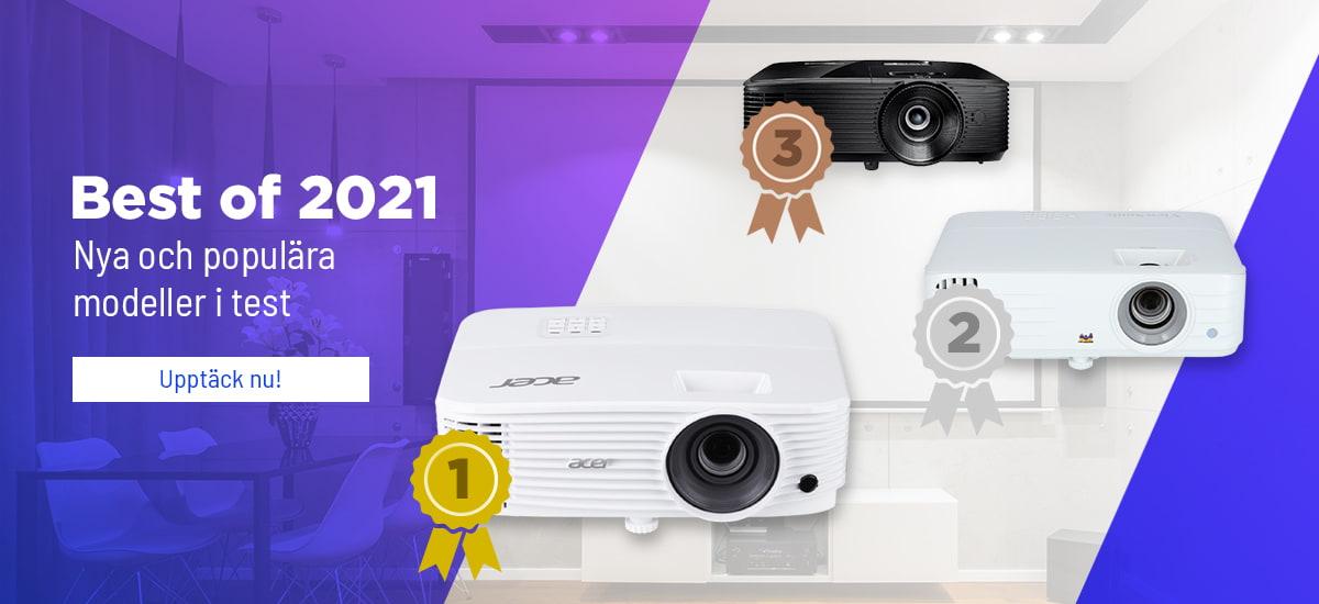 De bästa projektorerna 2021